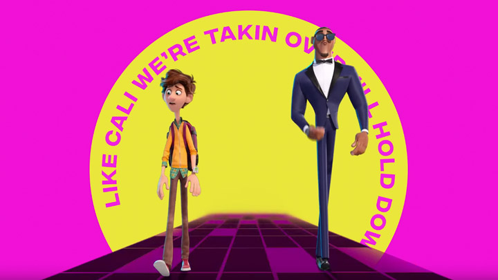 "teaser image - Spies In Disguise ""Fly"" Official Lyric Video"