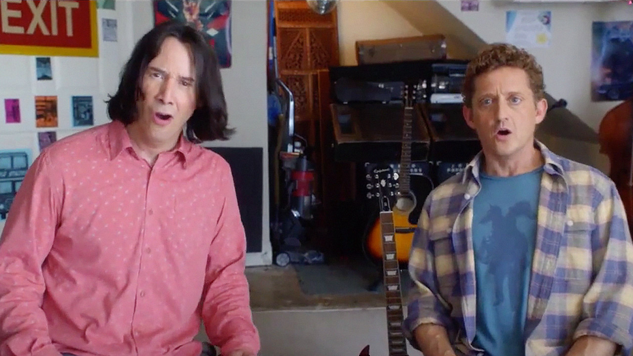 watch Bill & Ted Face The Music Official Trailer